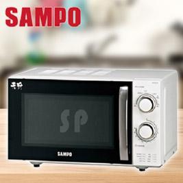 【聲寶SAMPO】20L定時無轉盤機械式微波爐 RE-P201R