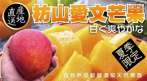 產地直送!【果之蔬】屏東枋山銷日愛文芒果