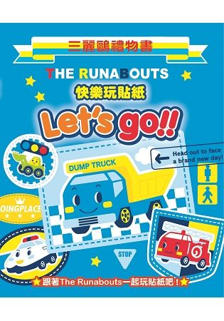 THE RUNABOUTS 快樂玩貼紙 Let's go !!