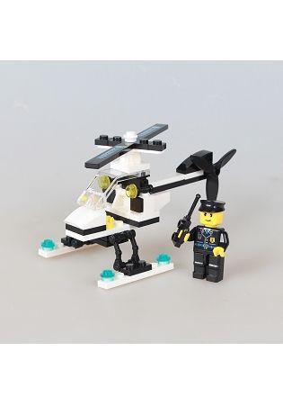 扭蛋迷你積木:直升機