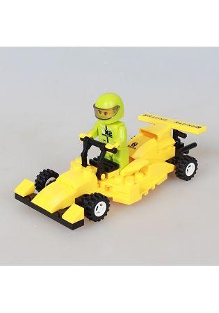扭蛋迷你積木:賽車