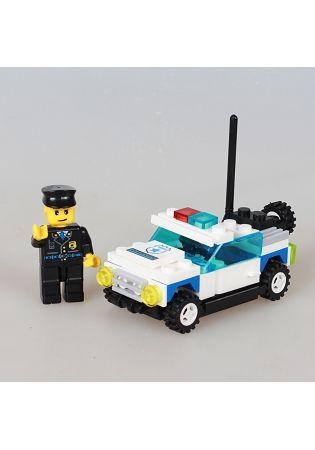 扭蛋迷你積木:警車