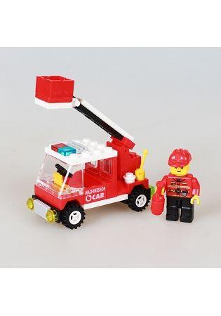 扭蛋迷你積木:雲梯車