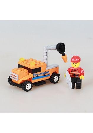 扭蛋迷你積木:工程車