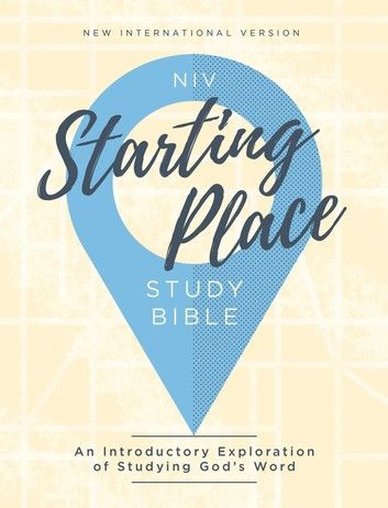 NIV, Starting Place Study Bible, eBook