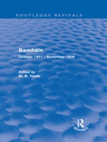 Samhain (Routledge Revivals)