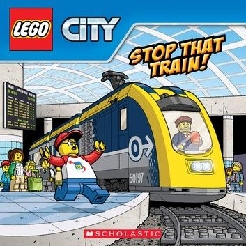 Stop That Train! (LEGO City: Storybook)