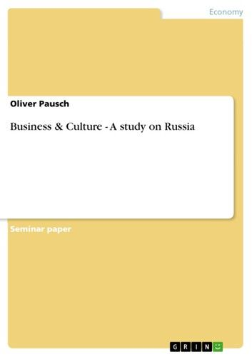 Business & Culture - A study on Russia
