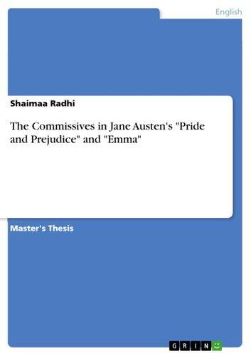 The Commissives in Jane Austen\