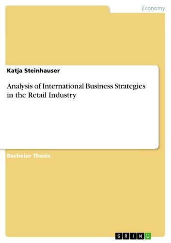 Analysis of International Business Strategies in the Retail Industry
