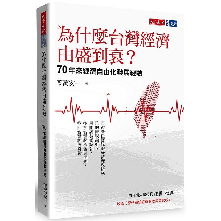為什麼台灣經濟由盛到衰?︰70年來經濟自由化發展經驗