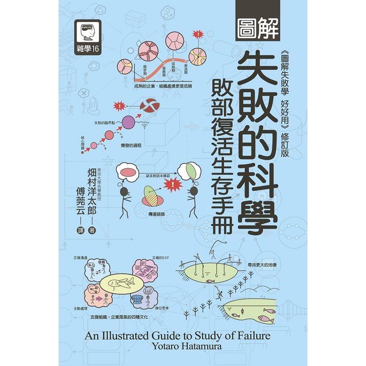 圖解失敗的科學:敗部復活生存手冊