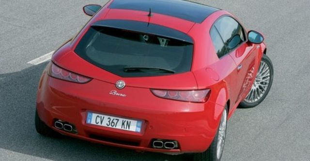 2008 Alfa Romeo Brera 3.2 JTS Q4  第9張相片