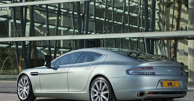 2013 Aston Martin Rapide 6.0 V12  第5張相片