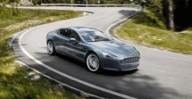 2012 Aston Martin Rapide 6.0 V12  第2張相片