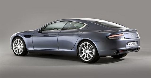 2012 Aston Martin Rapide 6.0 V12  第8張相片