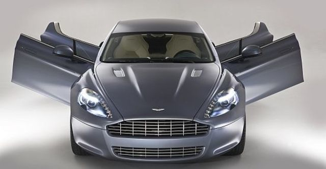 2012 Aston Martin Rapide 6.0 V12  第9張相片