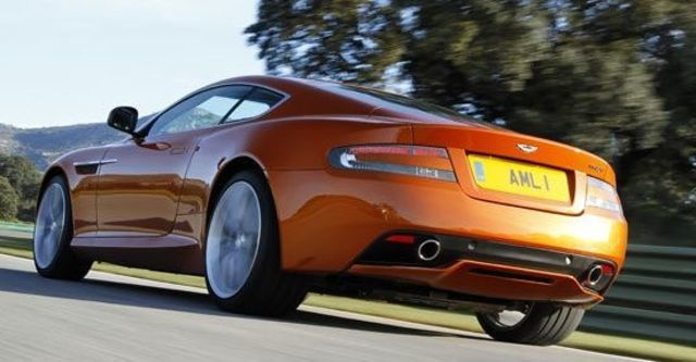2012 Aston Martin Virage 6.0 V12 Coupe  第7張相片