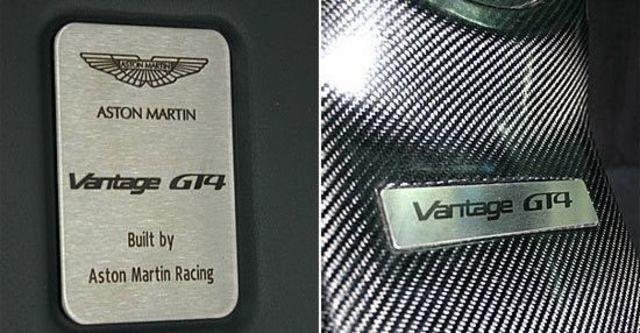 2011 Aston Martin Vantage GT4  第6張相片