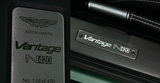 2011 Aston Martin Vantage V8 N420  第7張相片