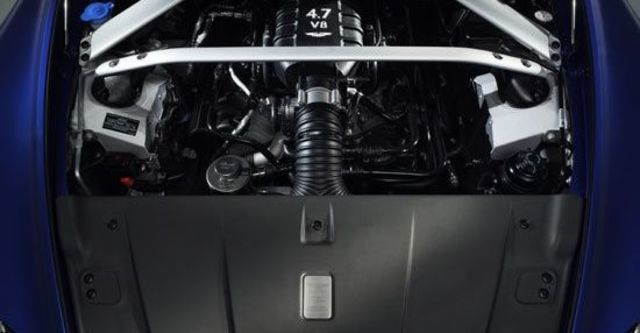 2011 Aston Martin Vantage V8 S  第10張相片