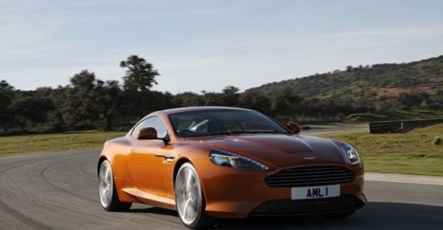 2011 Aston Martin Virage 6.0 V12 Coupe