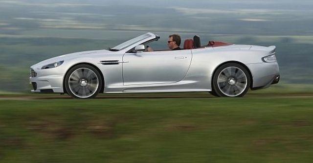 2010 Aston Martin DBS Volante  第5張相片