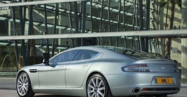 2010 Aston Martin Rapide 6.0 V12  第5張相片