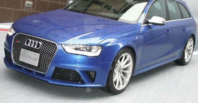 2013 Audi A4 Avant RS4  第1張相片