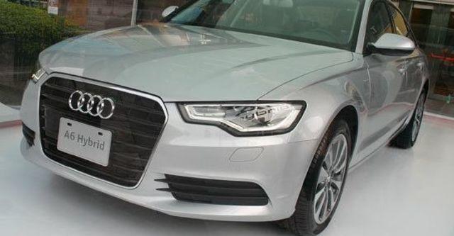 2013 Audi A6 Sedan Hybrid  第2張相片