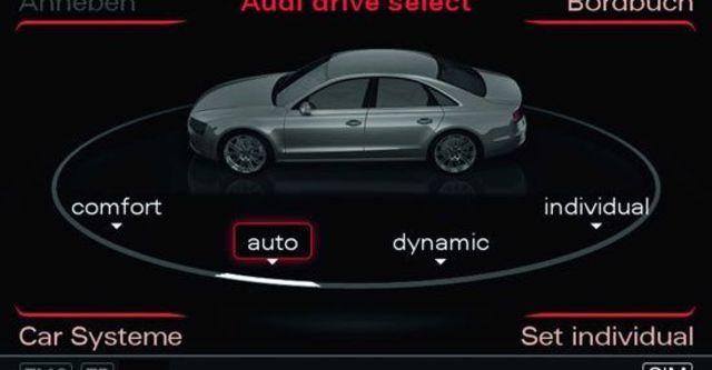 2013 Audi A8 L 4.0 TFSI quattro  第10張相片
