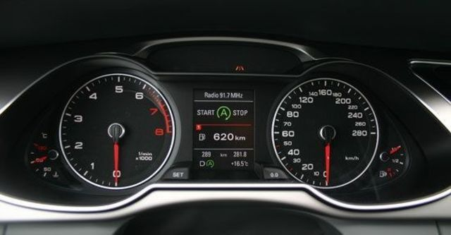 2012 Audi A4 Sedan 1.8 TFSI  第9張相片