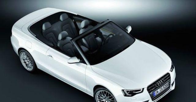 2012 Audi A5 Cabriolet 3.0 TFSI quattro  第2張相片