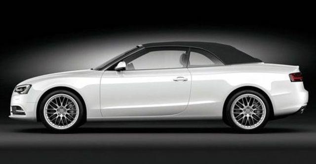 2012 Audi A5 Cabriolet 3.0 TFSI quattro  第9張相片