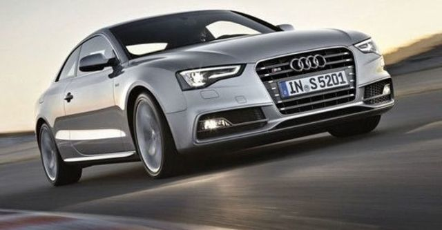 2012 Audi A5 Coupe S5  第1張相片