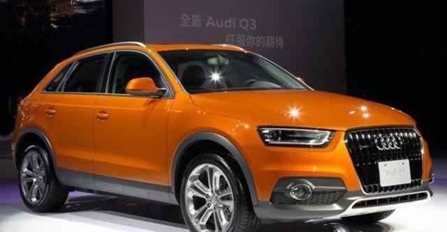 2012 Audi Q3 2.0 TDI quattro  第1張相片