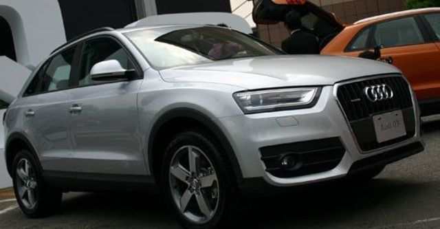 2012 Audi Q3 2.0 TFSI quattro  第2張相片