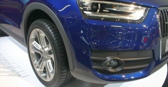 2012 Audi Q3 2.0 TFSI quattro  第8張相片