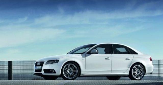 2010 Audi A4 Sedan 2.0 TFSI quattro  第5張相片