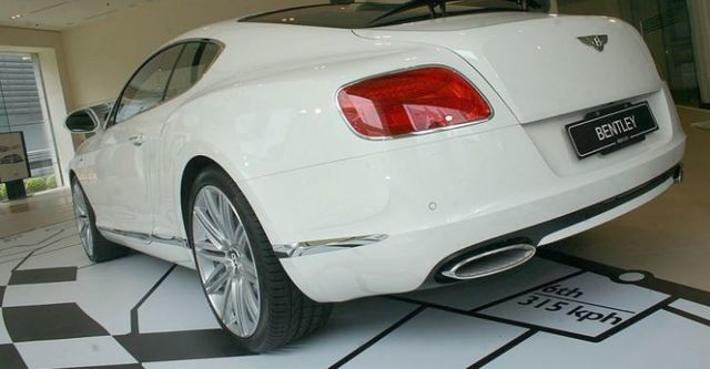 2015 Bentley Continental GT Speed 6.0 W12  第5張相片