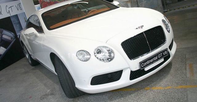 2014 Bentley Continental GT 4.0 V8  第1張相片