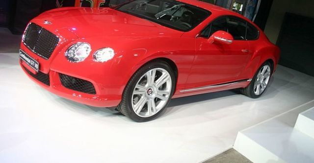 2014 Bentley Continental GT 4.0 V8  第5張相片