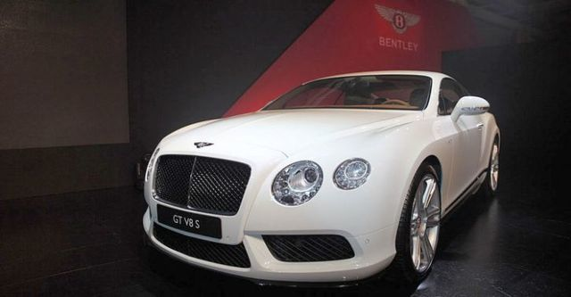 2014 Bentley Continental GT 4.0 V8 S  第1張相片