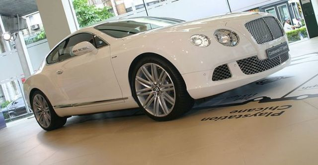2014 Bentley Continental GT Speed 6.0 W12  第1張相片