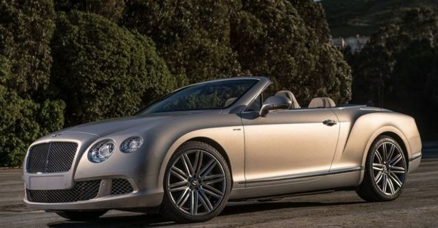 2014 Bentley Continental GTC Speed 6.0 W12  第1張相片