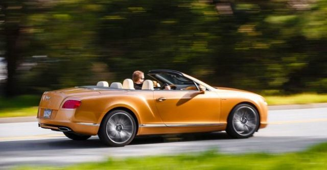 2014 Bentley Continental GTC Speed 6.0 W12  第3張相片