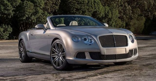 2014 Bentley Continental GTC Speed 6.0 W12  第4張相片