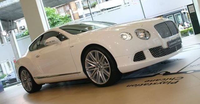 2013 Bentley Continental GT Speed 6.0 W12 Coupe  第1張相片