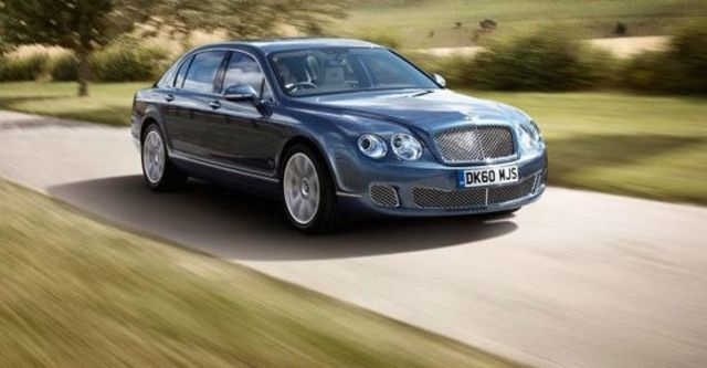 2012 Bentley Continental Flying Spur 6.0 W12  第1張相片