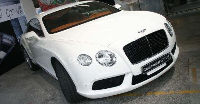 2012 Bentley Continental GT 4.0 V8 Coupe  第1張相片